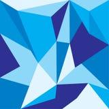 Διανυσματικό πολύγωνο Αφηρημένο Polygonal γεωμετρικό υπόβαθρο τριγώνων Στοκ Φωτογραφίες