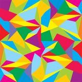 Διανυσματικό πολύγωνο Αφηρημένο Polygonal γεωμετρικό υπόβαθρο τριγώνων Στοκ Εικόνες