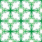 Διανυσματικό πράσινο πλέγμα δαντελλών Υπόβαθρο για τις περιοχές ελεύθερη απεικόνιση δικαιώματος