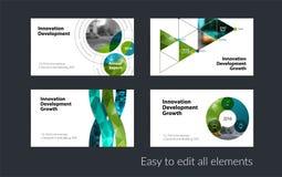 Διανυσματικό πρότυπο επαγγελματικών καρτών με τις κίτρινες μαλακές μορφές, κύκλοι Στοκ Εικόνα