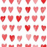 Διανυσματικό πρότυπο καρδιών Στοκ φωτογραφία με δικαίωμα ελεύθερης χρήσης