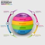 Διανυσματικό πρότυπο σχεδίου Infographic Στοκ Εικόνες