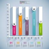 Διανυσματικό πρότυπο σχεδίου Infographics Στοκ Εικόνα