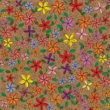 Διανυσματικό πλαίσιο λουλουδιών Στοκ εικόνες με δικαίωμα ελεύθερης χρήσης