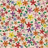 Διανυσματικό πλαίσιο λουλουδιών Στοκ Φωτογραφίες