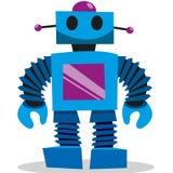 Διανυσματικό ρομπότ κινούμενων σχεδίων Στοκ εικόνα με δικαίωμα ελεύθερης χρήσης