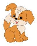 Διανυσματικό σκυλί Στοκ Φωτογραφία