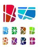 Διανυσματικό στοιχείο λογότυπων επιστολών σχεδίου Στοκ Εικόνες