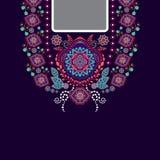 Διανυσματικό σχέδιο για τα πουκάμισα, μπλούζες Στοκ Εικόνες
