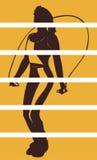 Διανυσματικό σχέδιο γυναικών clipart Στοκ Εικόνες