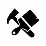 Διανυσματικό σχέδιο εικονιδίων τοποθετήσεων Στοκ εικόνα με δικαίωμα ελεύθερης χρήσης