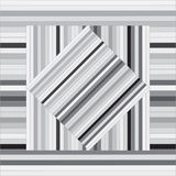 Διανυσματικό σχέδιο με τα ευθυγραμμισμένα τετράγωνα αφηρημένη γκρίζα σύσταση Στοκ εικόνες με δικαίωμα ελεύθερης χρήσης
