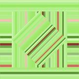 Διανυσματικό σχέδιο με τα ευθυγραμμισμένα τετράγωνα αφηρημένη πράσινη σύσταση Στοκ Φωτογραφίες