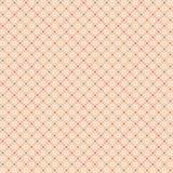 Διανυσματικό σχέδιο με τα τετράγωνα και τα λουλούδια Στοκ Εικόνα