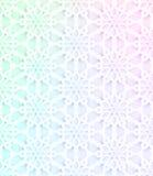 Διανυσματικό σχέδιο με το έγγραφο γραμματοσήμων μαργαριταριών Στοκ Εικόνα