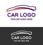 Διανυσματικό σχέδιο λογότυπων αυτοκινήτων Στοκ Εικόνα