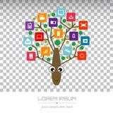 Διανυσματικό σχέδιο λογότυπων Στοκ Φωτογραφίες