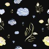 Διανυσματικό σχέδιο λουλουδιών Στοκ εικόνα με δικαίωμα ελεύθερης χρήσης