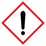 Διανυσματικό σχέδιο προειδοποιητικών σημαδιών Στοκ φωτογραφία με δικαίωμα ελεύθερης χρήσης