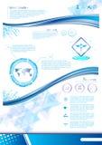 Διανυσματικό σχέδιο προτύπων έννοιας καινοτομίας Στοκ φωτογραφία με δικαίωμα ελεύθερης χρήσης