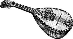 Mandoline Στοκ εικόνα με δικαίωμα ελεύθερης χρήσης