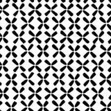 Διανυσματικό σχέδιο φιαγμένο από μαύρα περιγραμματικά λουλούδια Στοκ φωτογραφία με δικαίωμα ελεύθερης χρήσης