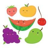 Διανυσματικό σχέδιο φρούτων Στοκ Εικόνα