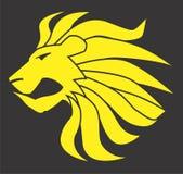 Διανυσματικό σχέδιο Clipart γατών λιονταριών Στοκ Φωτογραφίες