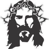 Διανυσματικό σχέδιο Clipart του Ιησούς Χριστού Στοκ Εικόνες