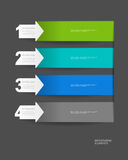 Διανυσματικό σχέδιο Infographics Στοκ Εικόνα