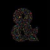 Διανυσματικό σχέδιο Mark Logotype Ampersand Ελεύθερη απεικόνιση δικαιώματος