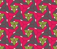 Διανυσματικό σύγχρονο άνευ ραφής ζωηρόχρωμο σχέδιο γεωμετρίας, περίληψη χρώματος Στοκ Φωτογραφίες