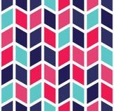 Διανυσματικό σύγχρονο άνευ ραφής ζωηρόχρωμο σχέδιο σιριτιών γεωμετρίας, περίληψη χρώματος Στοκ φωτογραφία με δικαίωμα ελεύθερης χρήσης