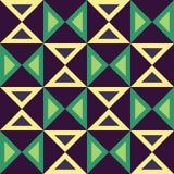 Διανυσματικό σύγχρονο άνευ ραφής ζωηρόχρωμο σχέδιο τριγώνων γεωμετρίας, περίληψη χρώματος Στοκ εικόνα με δικαίωμα ελεύθερης χρήσης