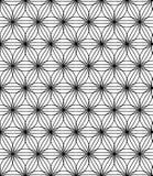 Διανυσματικό σύγχρονο άνευ ραφής ιερό λουλούδι σχεδίων γεωμετρίας της ζωής, γραπτή περίληψη απεικόνιση αποθεμάτων