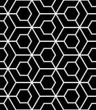 Διανυσματικό σύγχρονο άνευ ραφής ιερό σχέδιο γεωμετρίας, γραπτή περίληψη Στοκ Φωτογραφία
