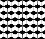 Διανυσματικό σύγχρονο άνευ ραφής σιρίτι σχεδίων γεωμετρίας, γραπτή περίληψη Στοκ Εικόνα