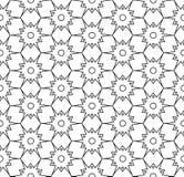 Διανυσματικό σύγχρονο άνευ ραφής σχέδιο γεωμετρίας, γραπτή περίληψη Στοκ εικόνες με δικαίωμα ελεύθερης χρήσης