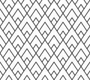 Διανυσματικό σύγχρονο άνευ ραφής τρίγωνο σχεδίων γεωμετρίας, γραπτή περίληψη Στοκ Φωτογραφία