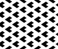 Διανυσματικό σύγχρονο άνευ ραφής τρίγωνο σχεδίων γεωμετρίας, γραπτή περίληψη Στοκ Εικόνες