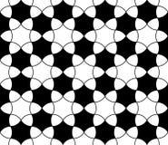 Διανυσματικό σύγχρονο άνευ ραφής snowflake σχεδίων γεωμετρίας Στοκ εικόνες με δικαίωμα ελεύθερης χρήσης