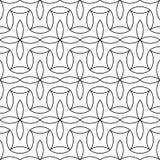 Διανυσματικό σύγχρονο αφηρημένο floral σχέδιο γεωμετρίας γραπτό άνευ ραφής γεωμετρικό υπόβαθρο Στοκ φωτογραφία με δικαίωμα ελεύθερης χρήσης