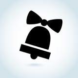 Διανυσματικό σύμβολο εικονιδίων κουδουνιών Στοκ Εικόνες
