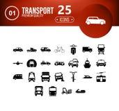 διανυσματικό σύνολο μεταφορών εικονιδίων για τις δημιουργικές ιδέες σας απεικόνιση αποθεμάτων