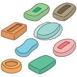 Διανυσματικό σύνολο σαπουνιού Στοκ εικόνα με δικαίωμα ελεύθερης χρήσης