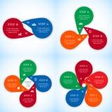 Διανυσματικό σύνολο infographics Στοκ φωτογραφίες με δικαίωμα ελεύθερης χρήσης