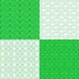 Διανυσματικό σύνολο εθνικών φυλετικών γεωμετρικών σχεδίων ελεύθερη απεικόνιση δικαιώματος