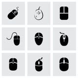 Διανυσματικό σύνολο εικονιδίων ποντικιών υπολογιστών Στοκ Φωτογραφία