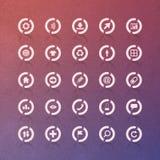 Διανυσματικό σύνολο εικονιδίων Στοκ εικόνα με δικαίωμα ελεύθερης χρήσης