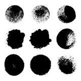 Διανυσματικό σύνολο κηλίδων Στοκ εικόνα με δικαίωμα ελεύθερης χρήσης
